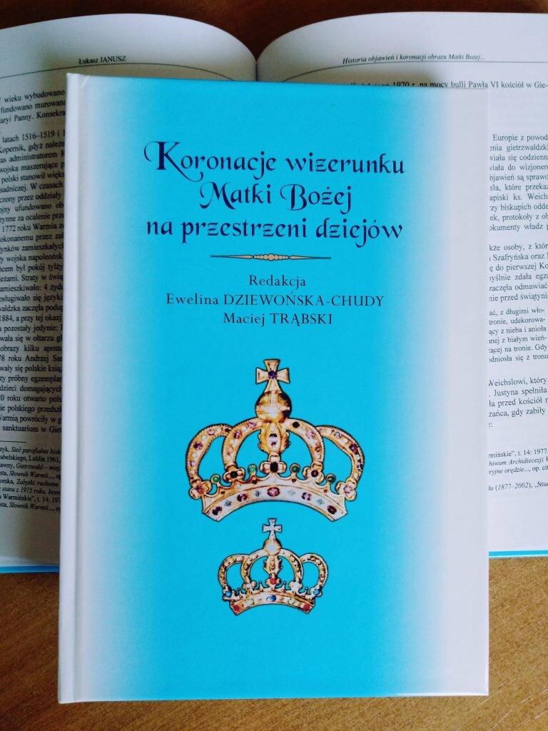 Książka Koronacje wizerunku Matki Bożej naprzestrzeni dziejów