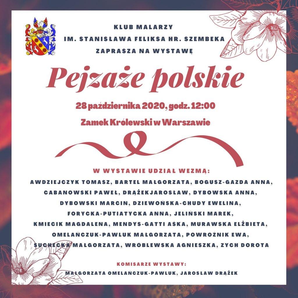 Wystawa Pejzaże polskie